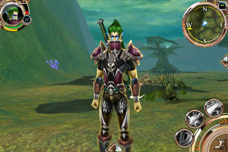 My WebShark character in Order & Chaos Online
