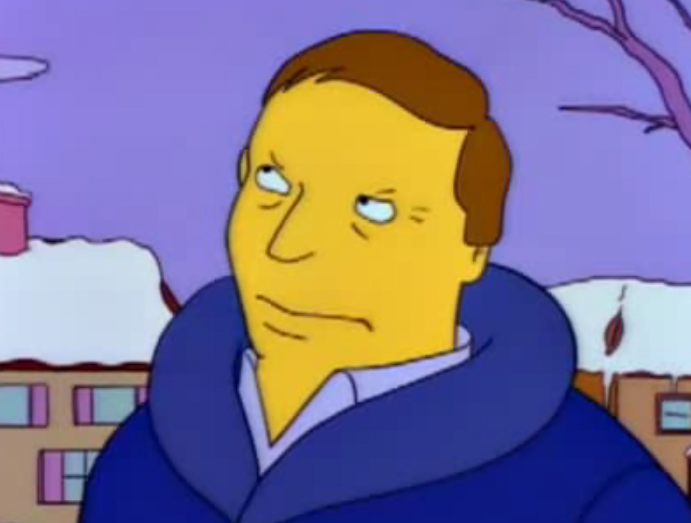 Adam West en Los Simpsons
